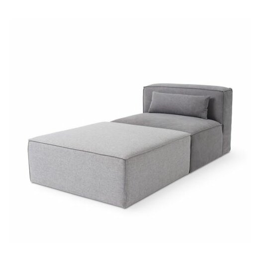 Mix Modular Side Chair and Ottoman