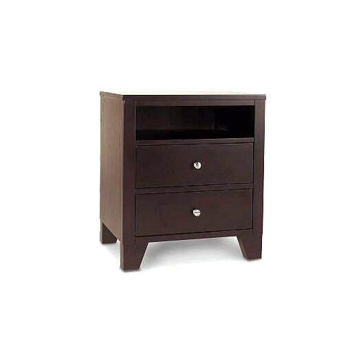 LifeStyle Solutions 500 Series 2 Drawer Nightstand