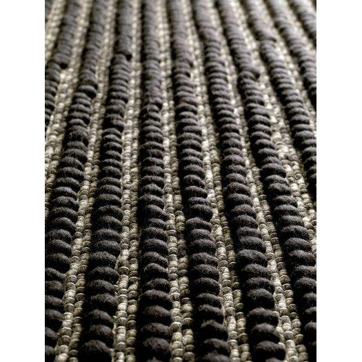 GAN RUGS Wool Rasta Brown Area Rug
