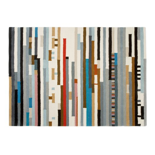 Hand Tufted Lepark Abstract Area Rug