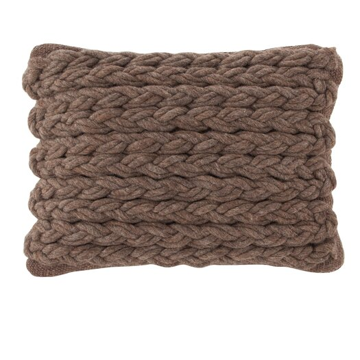 Trenzas Wool Lumbar Pillow