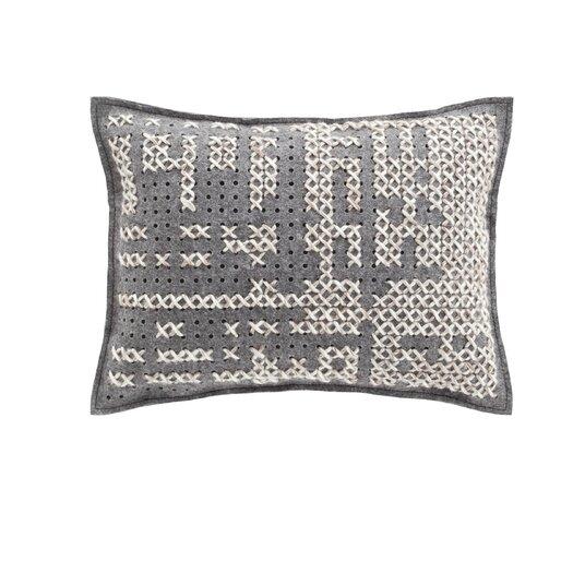 Canevas Wool Lumbar Pillow