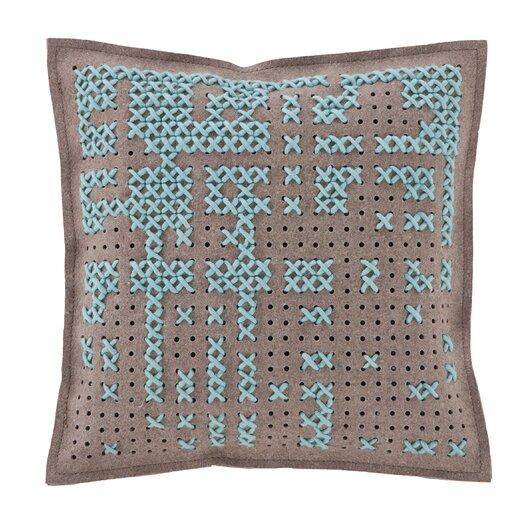 Canevas Wool Throw Pillow