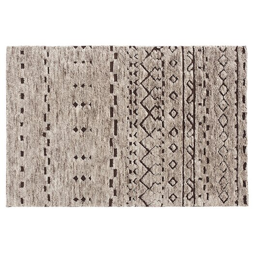 Hand-Knotted Natural Area Rug