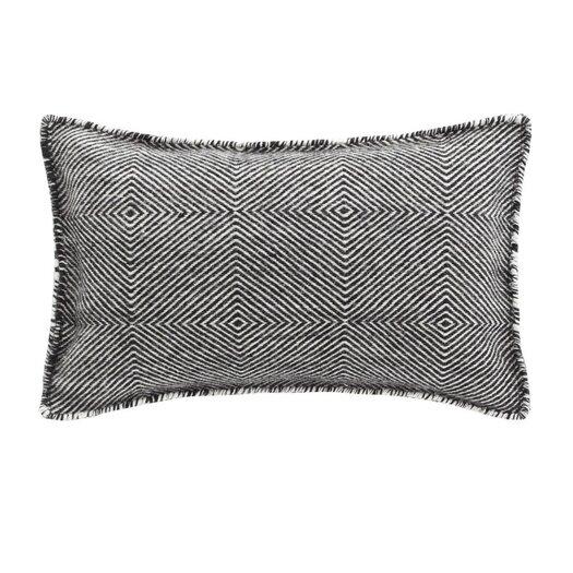 Trenzas Wool Throw Pillow