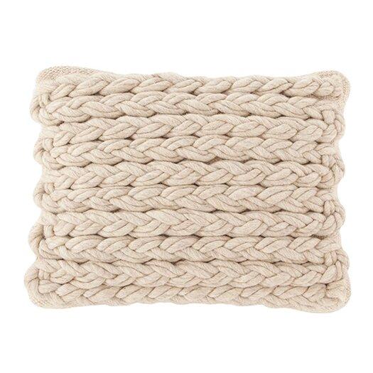 Mangas Space Rhombus Wool Throw Pillow