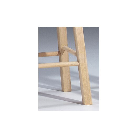 International Concepts Unfinished Wood 18 Quot Bar Stool