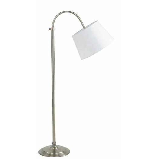 "Fangio Lighting 49"" Arched Floor Lamp"