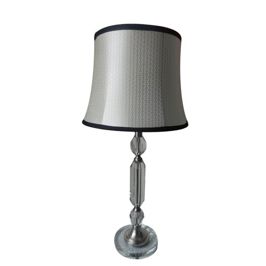 "Fangio Lighting 29"" H Table Lamp with Bell Shade"