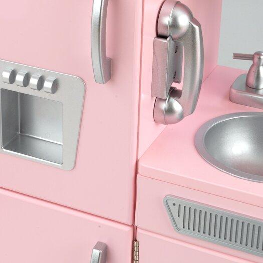 KidKraft Personalized Pink Vintage Kitchen