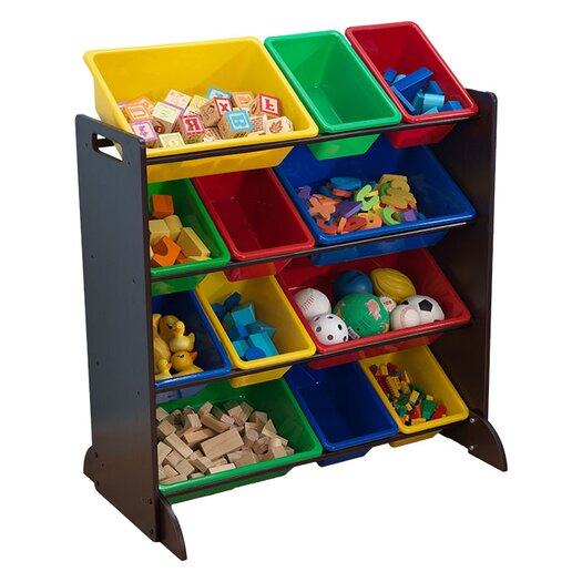 KidKraft Sort It and Store It 12 Compartment Cubby