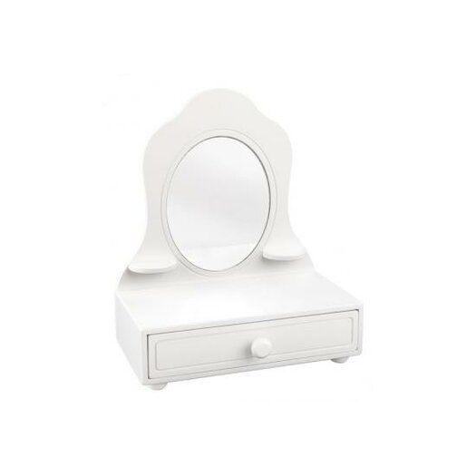 KidKraft Personalized Tabletop Vanity with Mirror