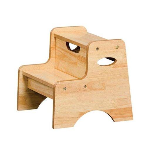 KidKraft 2-Step Manufactured Wood Step Stool