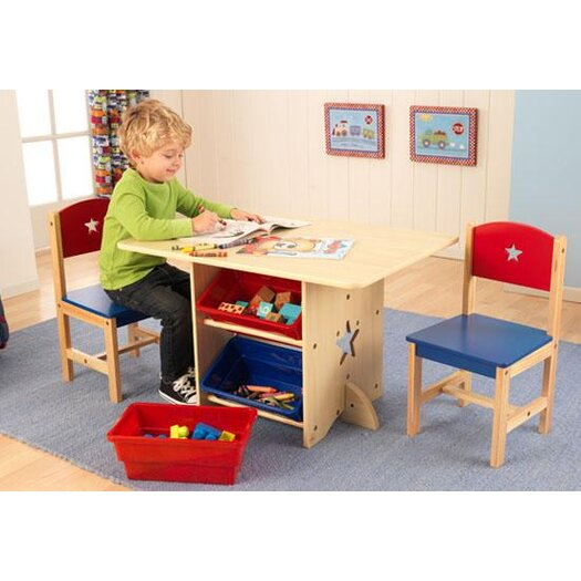 KidKraft Star Kids 5 Piece Table and Chair Set