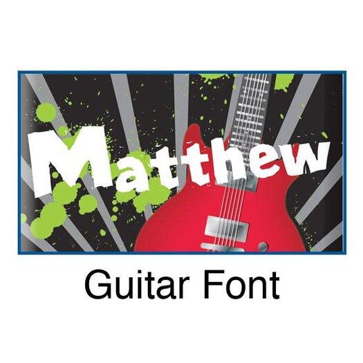 KidKraft Personalized Guitar Door Hanger
