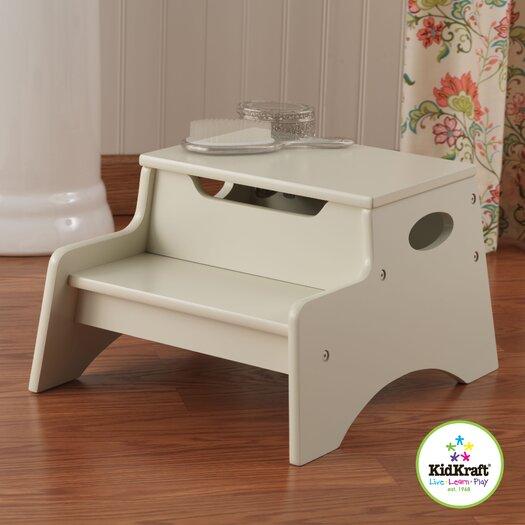 KidKraft 2-Step Manufactured Wood N' Store Step Stool