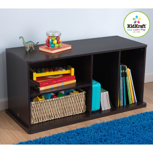 "KidKraft 17"" Storage Unit with Shelves"