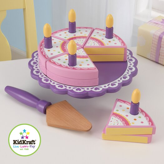 KidKraft 17 Piece New Birthday Cake Set