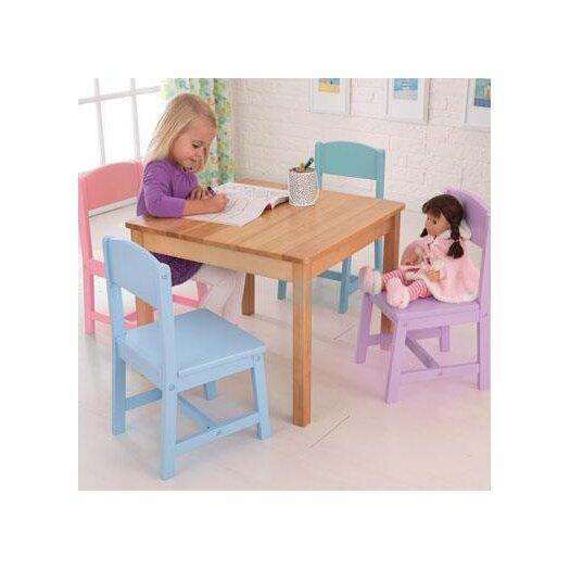 KidKraft Seaside Kids' 5 Piece Table and Chair Set