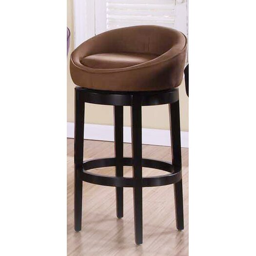 Armen Living Igloo 30 Quot Swivel Bar Stool With Cushion
