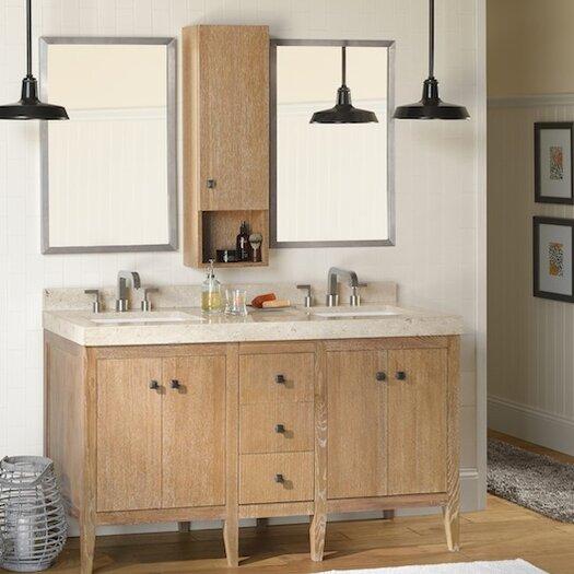 """Ronbow Sophie 24"""" Bathroom Vanity Cabinet Base in Vintage Honey"""