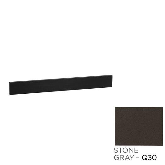 "Ronbow TechStone™ 37"" x 3""  Backsplash in Stone Gray"