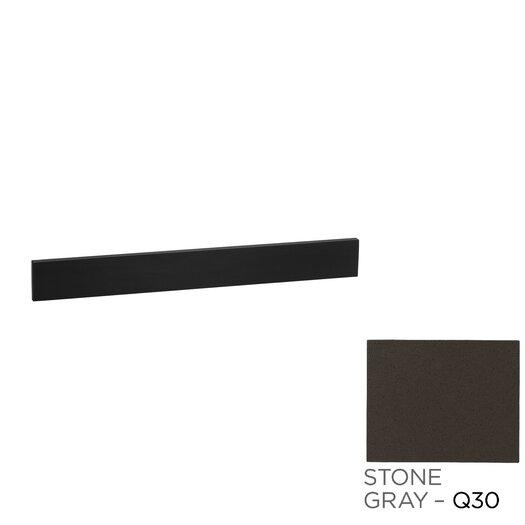 "Ronbow TechStone 3.5"" H x 48.56"" W Stone Gray Backsplash"