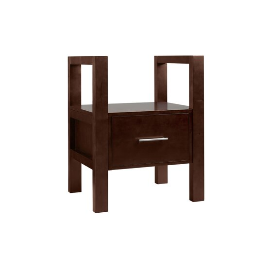 Ronbow Contempo Dark Cherry Wood Stand