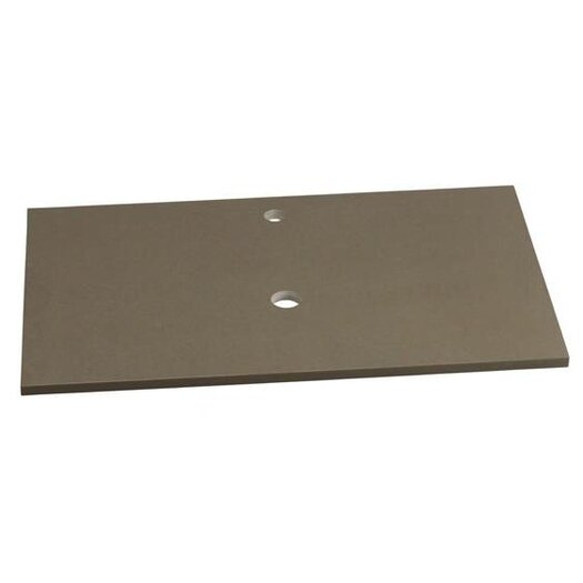 """Ronbow TechStone™ 32"""" x 19"""" Vanity Top in Grand Green - 3/4"""" Thick"""