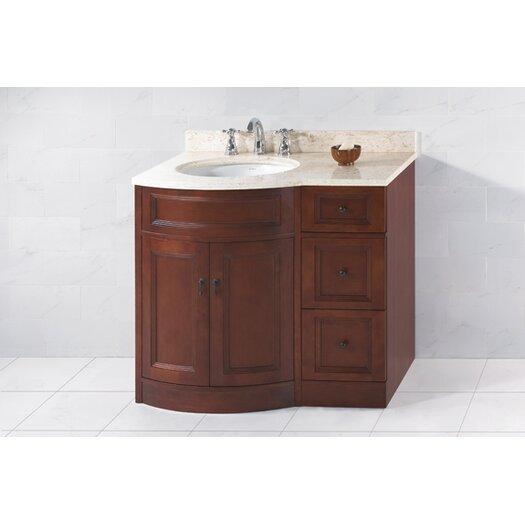 "Ronbow Traditions Marcello 37"" Single Bathroom Vanity Set"