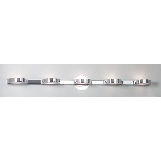 Illuminating Experiences Slimline 5 Light Wall Light