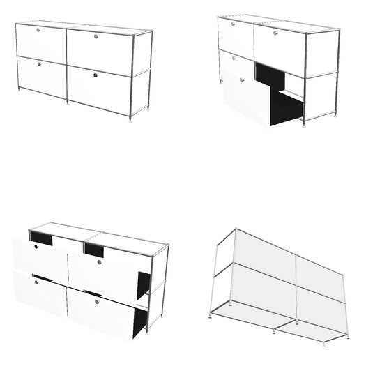 System4 SYSTEM4 Elite 4-Drawer Lateral File
