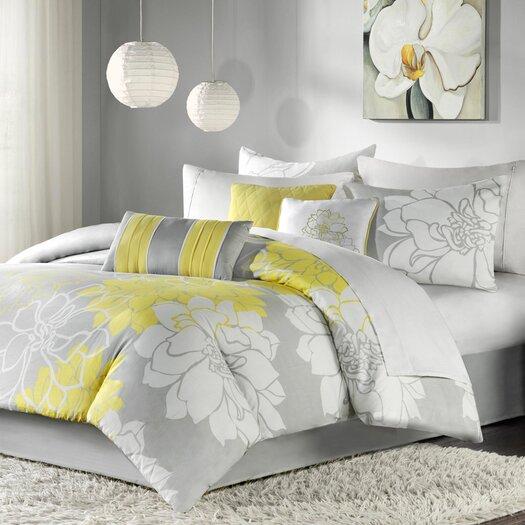 Madison Park Lola 7 Piece Comforter Set
