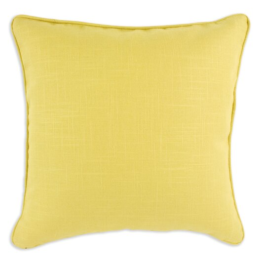 Brite Ideas Living Circa Solid Lava Corded Syntheric Euro Pillow