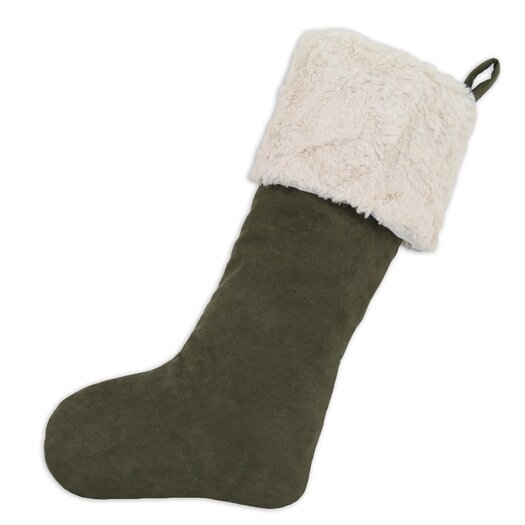 Brite Ideas Living Slam Dunk Crushed Lined Christmas Stocking