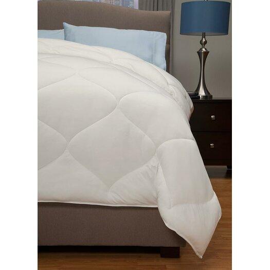 fluffy comfy lightweight down alternative comforter. Black Bedroom Furniture Sets. Home Design Ideas