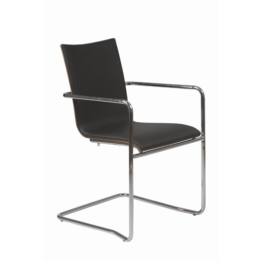 Eurostyle Madge Armchair in Black