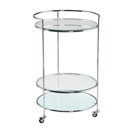 Eurostyle Rosita High Rolling End Table