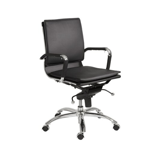 Eurostyle Gunar Pro Low-Back Adjustable Office Chair