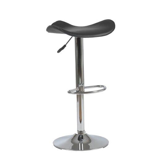 Eurostyle Fabia Adjustable Height Swivel Bar Stool with Cushion