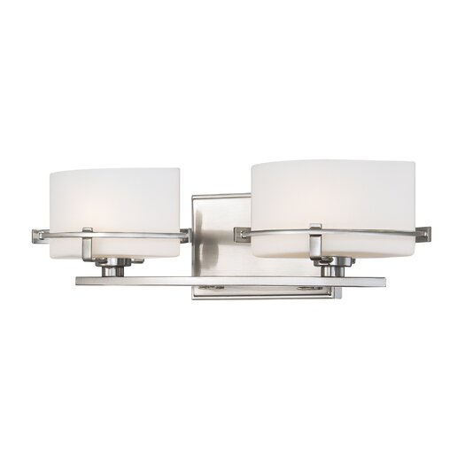 Quoizel Nolan 2 Light Bath Vanity Light