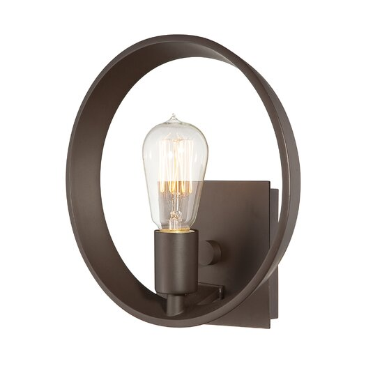 Quoizel Paloma Wall Sconce in Western Bronze