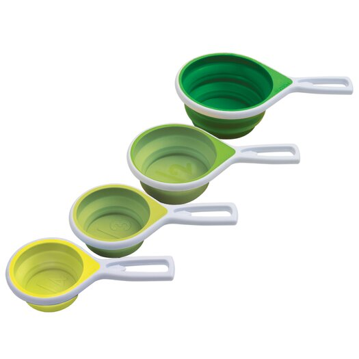 Vibe Vibe 4 Piece Collapsible Measuring Cup Set