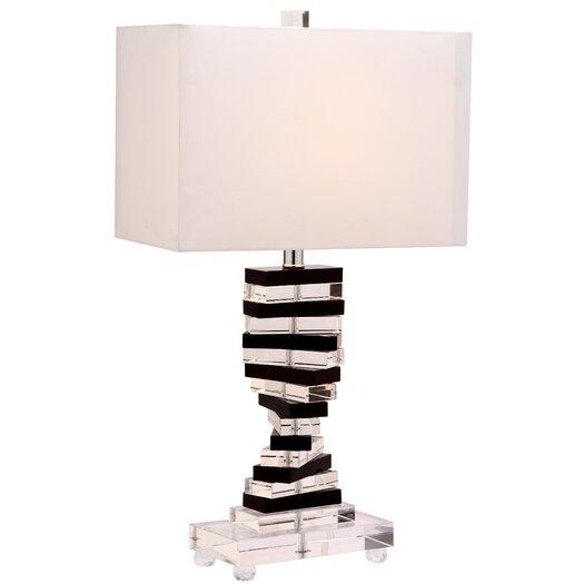 "Safavieh Key 25.75"" H Table Lamp with Rectangular Shade"