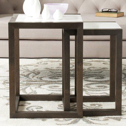 Safavieh Egan 2 Piece Nesting Table Set