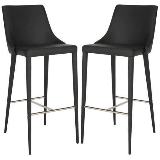 Safavieh Summerset 29 9 Bar Stool With Cushion Allmodern