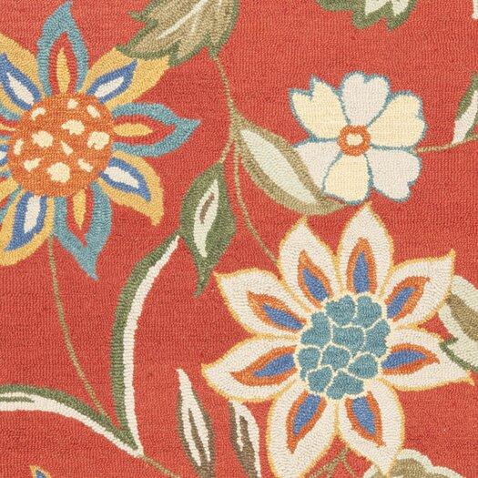 Safavieh Blossom Rust & Multi Floral Area Rug