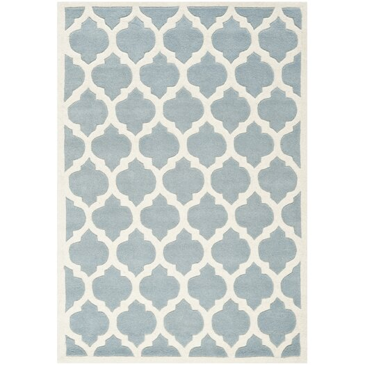 Safavieh Chatham Blue & Ivory Moroccan Area Rug