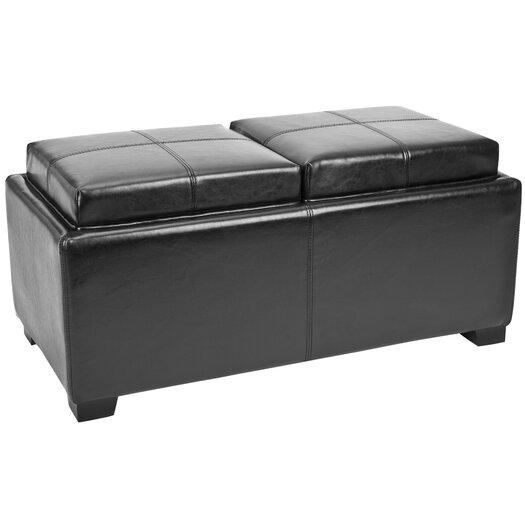 Safavieh Carter 2 Seater Storage Ottoman