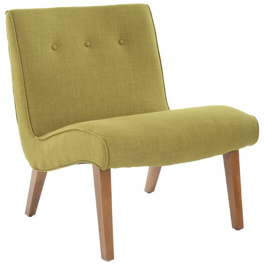 Safavieh Mandell Slipper Chair in Green